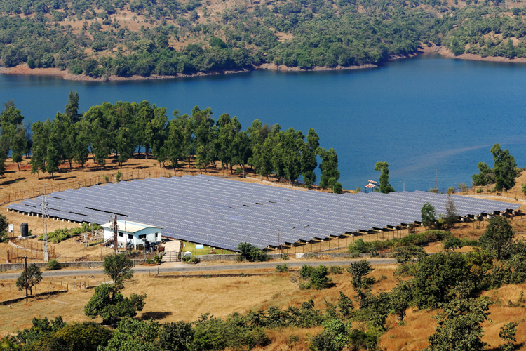 3 MW Mulshi plant by Tata Power Solar
